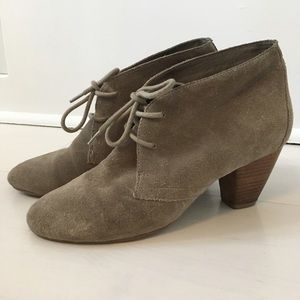 ALDO lace up leather ankle boots